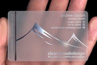 Cartões com facas curiosas Plastic-card
